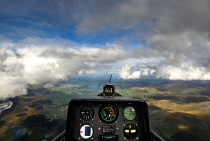 Mike Fox Flying in Wales
