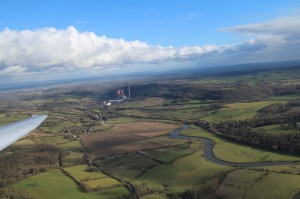 The power station near Ironbridge