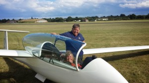 Nick Peatfiled and Alison at Cosford