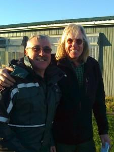 Warren Johnson and Dave Knibbs